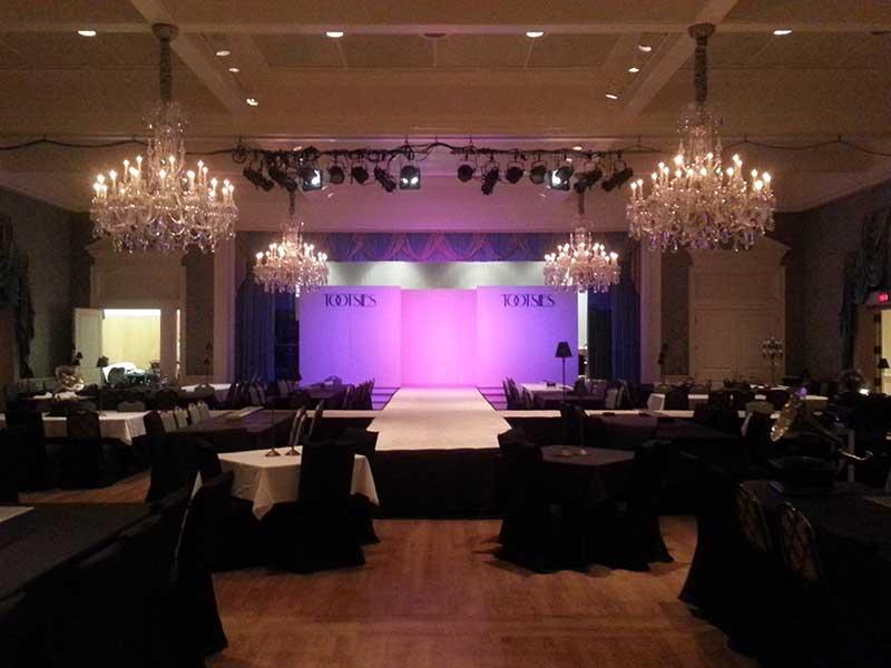 Lighting---Fashion-Show---Flown-Lights